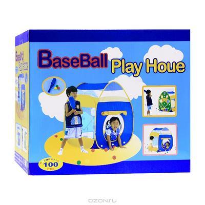 """Палатка """"Домик"""", с шариками, с бейсболом"""