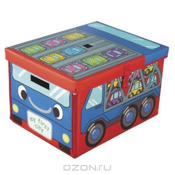 Хранение игрушек: контейнеры, ящики.