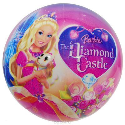 """Мяч """"Барби в бриллиантовом замке"""", 14 см"""