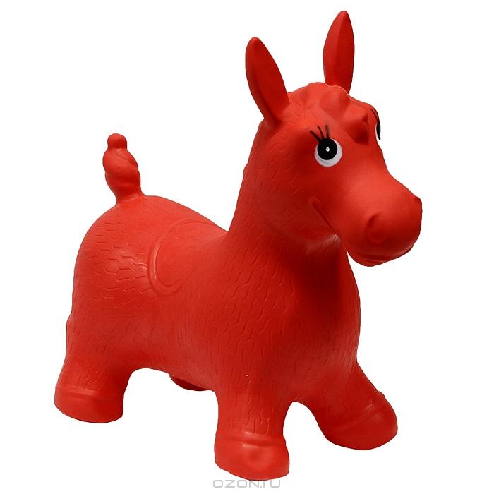 """Надувная игрушка-попрыгун """"Лошадка"""", цвет: красный"""