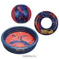 "Набор для плавания ""Spiderman"", 3 предмета. 1394609"