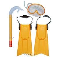 "Набор для плавания ""Beach Club"": маска, трубка, ласты"