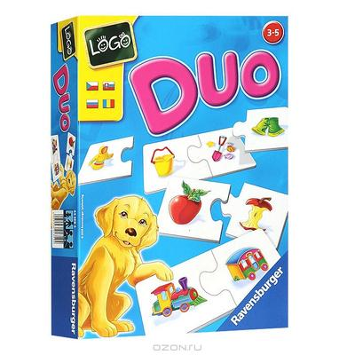 """Настольная игра """"Duo: Что к чему подходит?"""""""