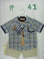 """Комплект """"Мир приключений"""" (футболка, рубашка, шорты) Олдос"""