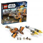Гоночные капсулы Анакина и Себулбы Lego Star Wars (Лего Звездные войны)