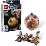Гоночный кар Себульбы и планета Татуин Lego Star Wars (Лего Звездные войны)