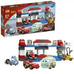Пит-стоп Lego Duplo Cars (Лего Дупло Тачки)