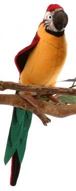 Игрушка от Hansa (Ханса) Желтый попугай