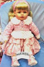 Кукла Карапуз Луиза виниловая, озвученная, с чипом