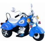 Мотоцикл Bugati (Бугати) синий
