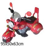 Мотоцикл Bugati (Бугати) трехколесный красный