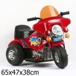 Мотоцикл Bugati (Бугати) Police Patrol красный