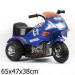 Мотоцикл Bugati (Бугати) Милиция синий