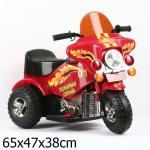 Мотоцикл Bugati (Бугати) Пожарная охрана красный