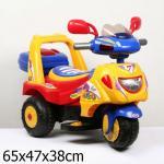 Мотоцикл Bugati (Бугати) EC-08A трехцветный