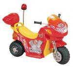 Детский электромотоцикл NeoTrike Police (Неотрайк Полис) красный