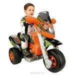 """Трицикл """"XTM"""", с электроприводом, цвет: оранжево-черный"""