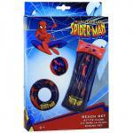 """Набор для плавания """"Spiderman"""": матрас, круг, мяч"""