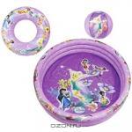 "Набор для плавания ""Disney Fairies"": бассейн, мяч, круг"