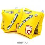 """Нарукавники для плавания детские """"Bestway"""", цвет: желтый, 25 см х 15 см"""